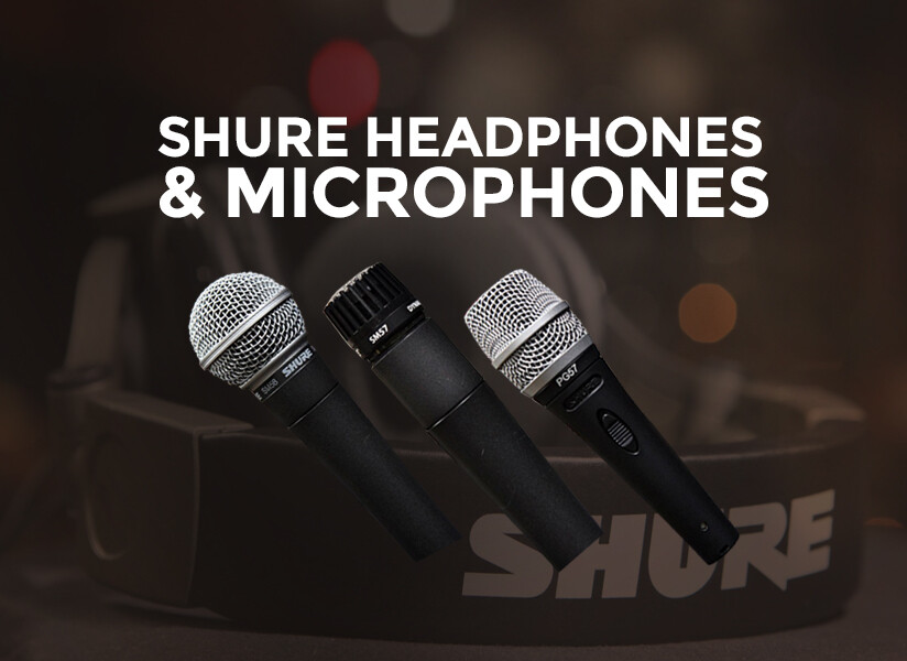 Shure Headphones & Microphones